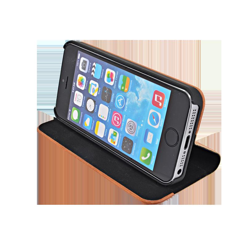 coque clapet pour apple iphone 5 5s se marron et bois naturel cherry apple iphone 5 5s se. Black Bedroom Furniture Sets. Home Design Ideas