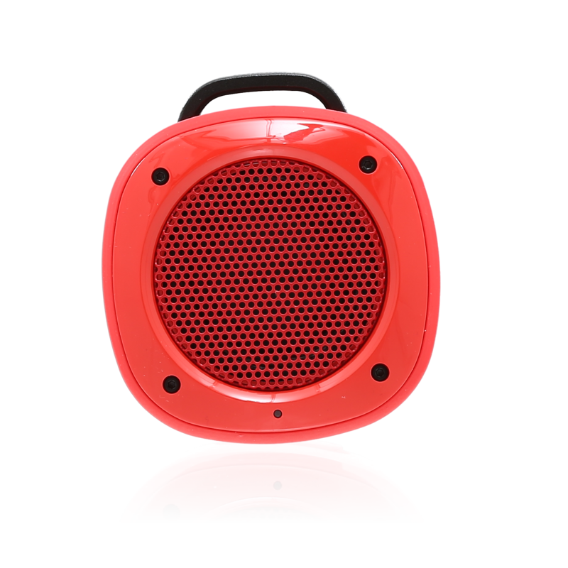 airbeat 10 haut parleur portable bluetooth avec microphone rouge the kase. Black Bedroom Furniture Sets. Home Design Ideas