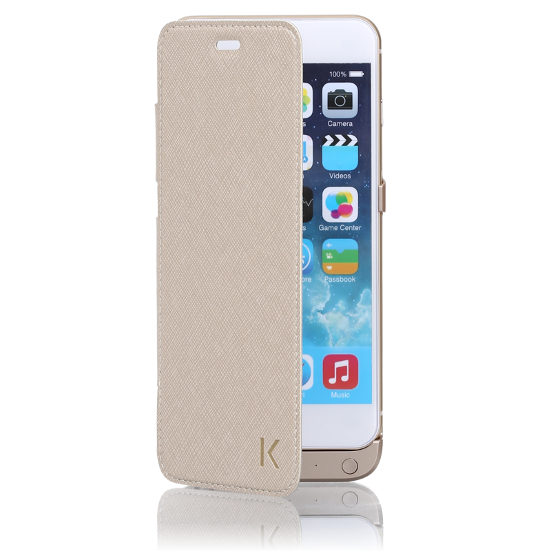 coque iphone 7 clapet transparent