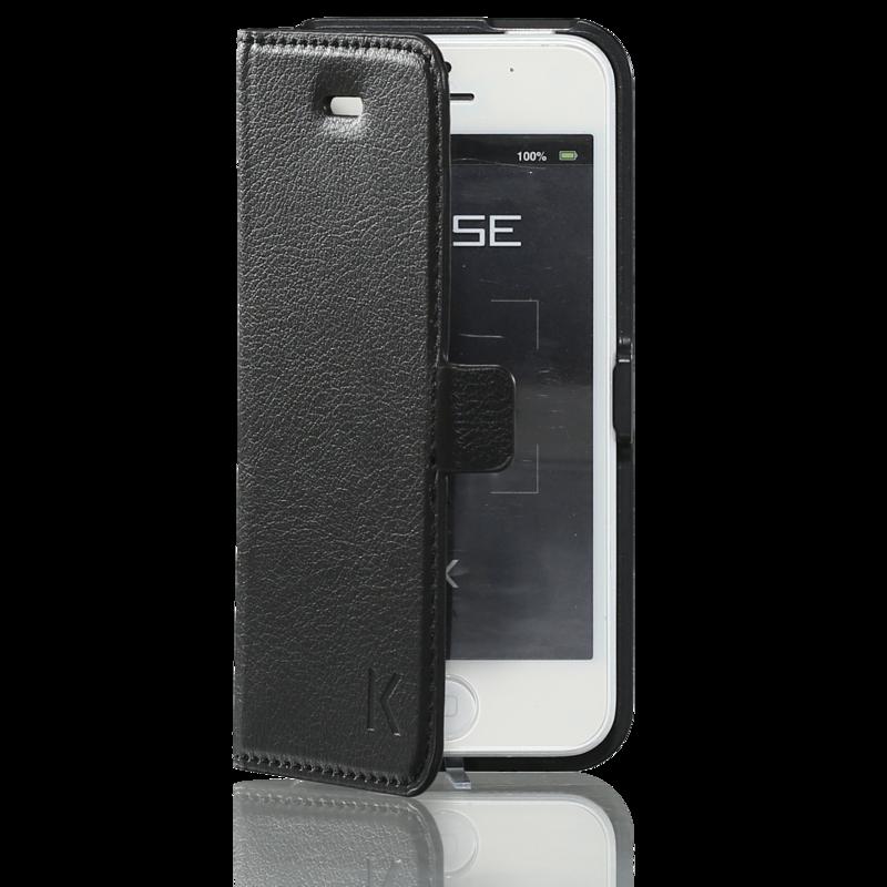 coque clapet aimant e avec pochette cb pour apple iphone 5 5s se noir apple iphone 5 5s se. Black Bedroom Furniture Sets. Home Design Ideas